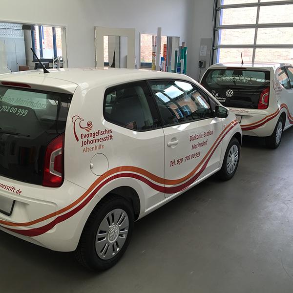 Fahrzeugbeschriftung, kKabus, Werbetechnik